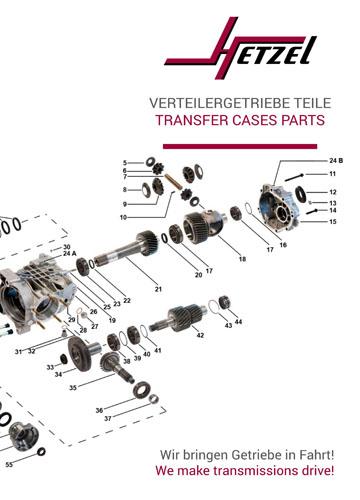 Katalog Ersatzteile Verteilergetriebe